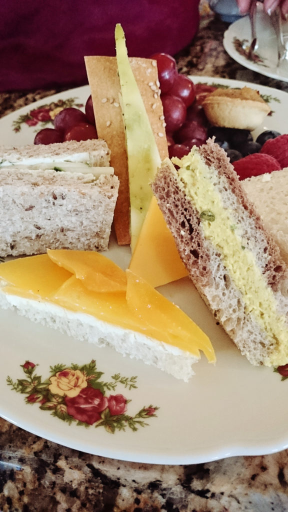 Grand Floridian high tea sandwiches